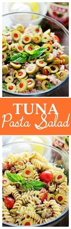 Tuna Pasta Salad wit