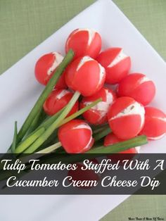 These tulip tomatoes are a healthy side dish perfect for any spring or summer occasion. Truly wow your guests at this work of art that you have created in just under 30 minutes.