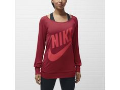 Nike Logo Women's Sweatshirt - $50.00    I must have in every color!