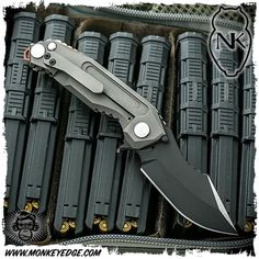 Nocturnal Knives: CT-1 SOCOM Black/Satin Two Tone