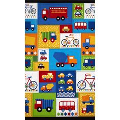 Ready Set Go Ready Set Go Blocks Primary from @fabricdotcom  Designed by Ann Kelle for Robert Kaufman, this cotton print fabric is perfect for quilting, apparel and home decor accents. Colors include yellow, orange, red, white, black and shades of blue and green.