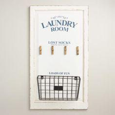 Laundry room wall ar