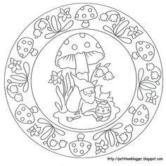 MANDALES PASQUA - Petitmón Recursos - Picasa Webalbumok Adult Coloring Book Pages, Free Coloring Pages, Coloring Sheets, Coloring Books, Record Art, Halloween Drawings, Sketch Painting, Mandala Coloring, Mandala Art