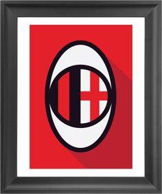 Minimalist AC Milan   Futbol Artist Network