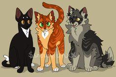 kittens! by snowylynxx