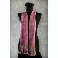 Handwoven Tencel Scarf - Hand dyed  Eco friendly Yarn, Ann Robinson Designs /// TAFA Market: Color Collection, http://www.tafaforum.com/market/tafa-market-colors/