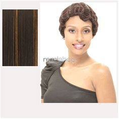 Janet Premium Synthetic Fiber Wigs Mommy  - Color PFS1B/27 - Synthetic Regular Wig