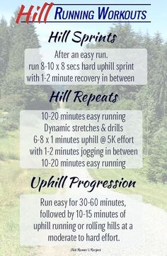 Hill Running Benefits and 3 Hill Running Workouts The Benefits of Hill Running Workouts Plus 3 Hill Workouts to Increase Speed, Build Endurance, and Improve your Running Form Running Hills, Running Form, Running Training, Training Plan, Trail Running, Running Schedule, Rugby Training, Training Equipment, Weight Training