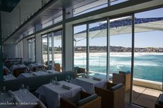 Icebergs Dining Room Bar Occupying The Top Level Above Iconic Bondi Pool Complex