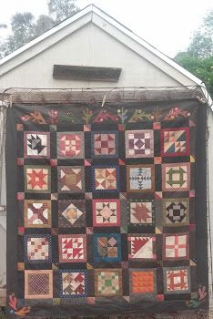 Everyday Patchwork Finish with finishing information. At http://quiltsbycheri.blogspot.com/2015/05/everyday-patchwork_29.html