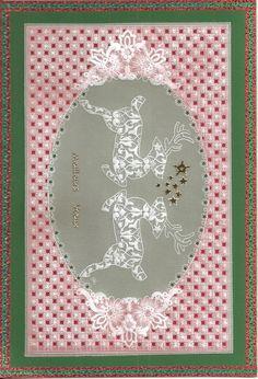 ¨carte de Noël, réalisation mamieperga