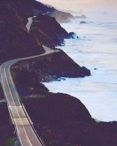 California Route 1, Big Sur coastline perfection : Jeffrey Swanson #bigsur…