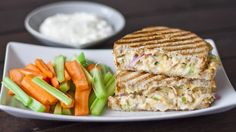 Buffalo Chicken and Grilled Cheese Sandwich Recipe on Yummly
