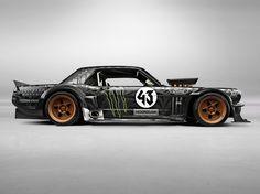 Ken Block's Ford Mustang.