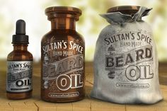 This Handmade Collection Contains Essential Haircare Products for Beards #men #gifts trendhunter.com