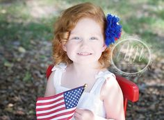 Child Photography | Themed Photography | 4th of July | Independence Day | © Ashley McKelvey Photography