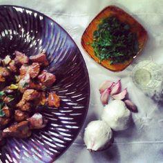 Higaditos de pollo al ajillo Descubre como hacerlo en: http://lacocinadevalle.blogspot.com.es/2014/03/lo-mas-reciente_14.html