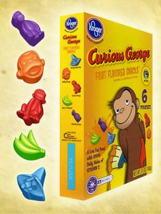 curious george fruit snacks - Google Search