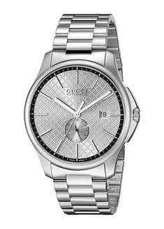 f860a28471b Gucci Men s Swiss Dive Black Rubber Strap Watch 45mm YA136204 ...