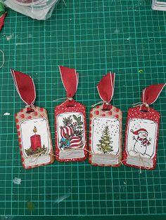 Brigitte's Paper creations: Jar of Cheer Tags