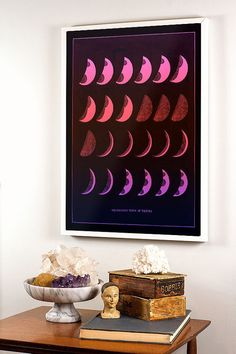 Constellation Map Moon Phase Print by DaylightDreams on Etsy, $25.00
