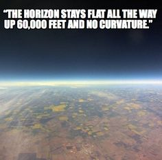 Research Flat Earth.
