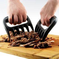 Canbor Fleischgabel Fleisch Krallen Meat Claws Pulled Meat Pork Shredder Claws Fleisch Schneiden Bärentatzen Paws Grill Gabeln Schnitzen Gabeln, Werkzeug für die Küche Geräucherte BBQ Grilling Tool.                  Mit dieser Ware können Sie den Fleisch wie Schweinefleisch, Rind und so weiter in Sekunden zerkleinern und ziehen.