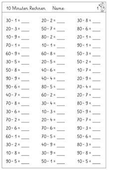 der Zehnerübergang im ZR 100 mit einstelligen Zahlen - #Der #einstelligen #im #mathe #mit #Zählen #Zehnerübergang #ZR