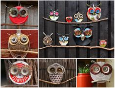 Recycled Owl Art from thewhoot.com/media/slider/recyled-owl-art