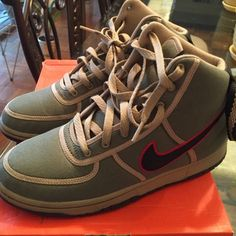 Nike vandal deco canvas youth 6.5 (women's size 8) Nike Shoes Sneakers