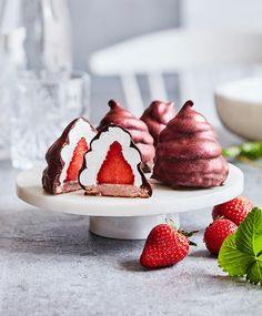Fruit Recipes, Sweet Recipes, Baking Recipes, Cake Recipes, Dessert Recipes, Just Desserts, Delicious Desserts, Yummy Food, Miniature Food