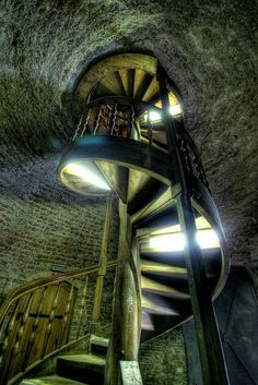 Juliusturm - another spiral staircase