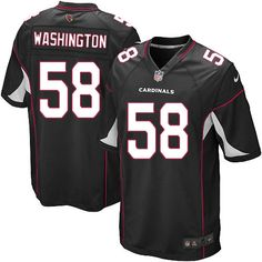 Limited Daryl Washington Youth Jersey - Arizona Cardinals 58 Alternate Black Nike NFL