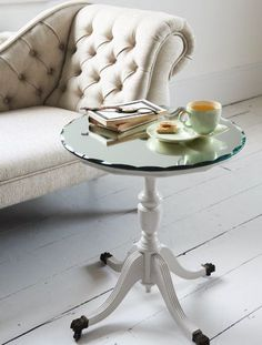Preloved | Secondhand Project - Make a Mirror Side Table