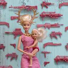 The twisted life of a Barbie via onreact Bad Barbie, Barbie Dolls, Girl Barbie, Trophy Wife, Doll Repaint, Cursed Images, Doll Face, Pink Aesthetic, Happy Mothers Day