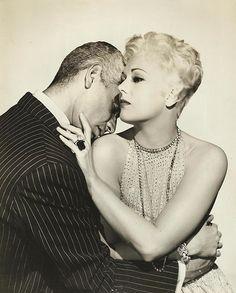 Kim Novak and Jeff Chandler in Jeanne Eagels (1957)
