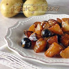 Patate St. Tropez e olive