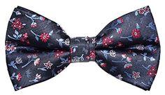 OCIA® Mens Retro Floral Woven Microfiber Pre-tied Bow Tie... https://www.amazon.com/dp/B01GBGMDG0/ref=cm_sw_r_pi_dp_m2hHxbWVQAZNA