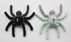 Opskrift på Hæklet Edderkop // Pattern for the Crochet Spider | Lutter Idyl