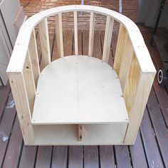 diy frame for tub chair