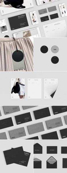 Cocos fashion branding, visual identity, brand design