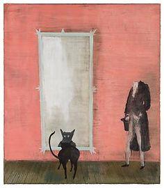 Dorian Gray, Norbert Schwontkowski, oil on canvas, 2011. - Courtesy of the artist; Contemporary Fine Arts, Berlin; and Mitchell-Innes & Nash, New York.