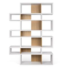 Shella Cube Unit Home Etc Finish: White Matt / Cork Veneer Modular Bookshelves, Cube Bookcase, Bookcase Door, Home Office Shelves, Bibliotheque Design, Cube Unit, Folding Furniture, Contemporary Home Decor, Living Furniture