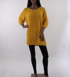 Ladies knittedYellow jumper  #ZARA #Jumpers #Everyday
