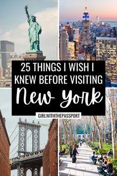 New York Travel Guide, Usa Travel Guide, Travel Usa, Travel Tips, Travel Destinations, Travel Abroad, Travel Hacks, Travel Ideas, Travel Inspiration