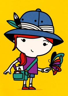 Spencer Wilson - Butterfly  Tiphaine-illustration  #fieldtrip #butterfly