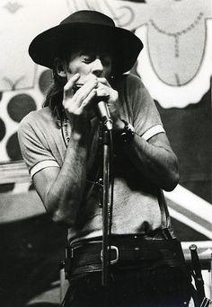 John Mayall, John Mayall's Bluesbreakers at Redcar Jazz Club, late 60s.
