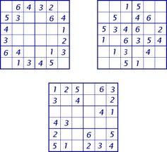 Sudoku's en andere puzzels