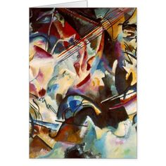 Kandinsky Composition VI Abstract Painting