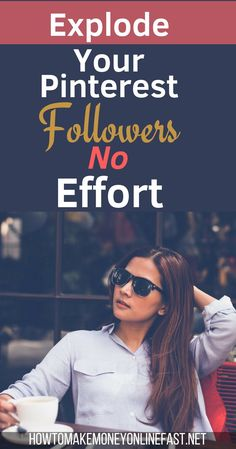Explode your Pinterest following  without any effort learn how to get more followers on automatic. pinterest tips| pinterest followers| increasing pinterest followers| #pinterest #pinterestmarketing #followers Social Media Tips, Social Media Marketing, Marketing Strategies, Affiliate Marketing, How To Get Followers, Fast Followers, Make Money Online, How To Make Money, Self Employment